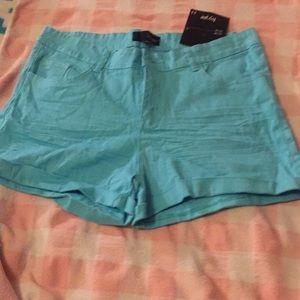 Hype brand sky blue shorts